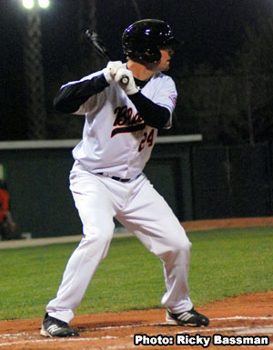 Travis 'Moose' Mattair had a breakout season in 2012 with the Bakersfield Blaze.
