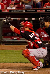 Tucker Barnhart likely won't see time in the big leagues in 2013.