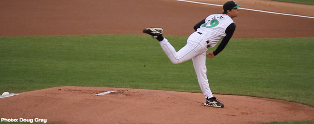 Drew Cisco had a strong start for the Dayton Dragons last week, who won 5 games last week.