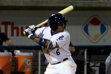 Phillip Ervin | Photo: Barrett McClean/Pensacola Blue Wahoos