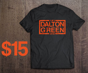 DALTON AND GREEN IN 2018 T SHIRT