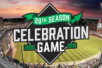 Dayton Dragons 20th anniversary game