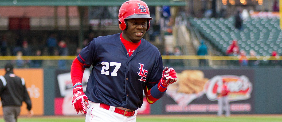 Reds prospect Aristides Aquino homers twice for Louisville on Saturday