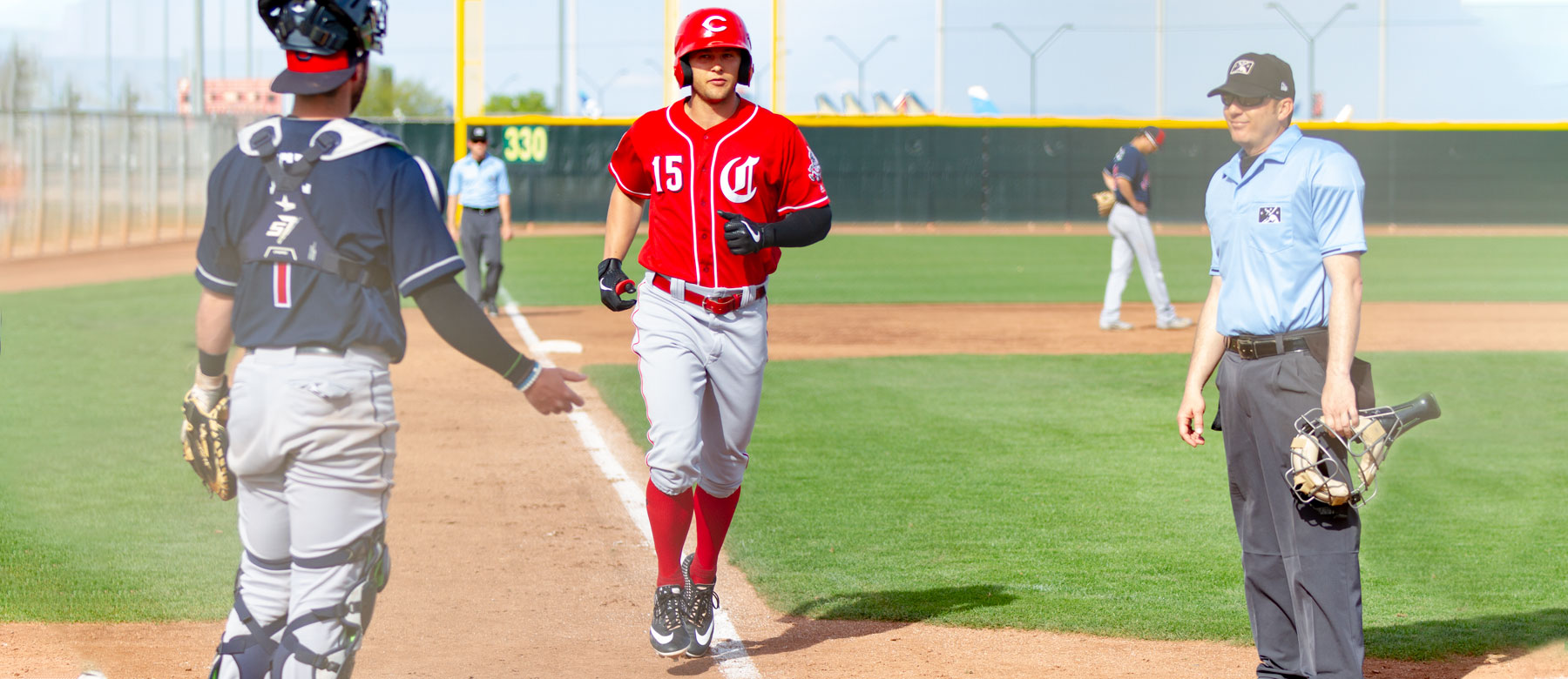 The Cincinnati Reds minor league 2019 longest home runs