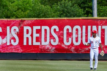 JC Keys This Is Reds Country (Photo: Doug Gray)