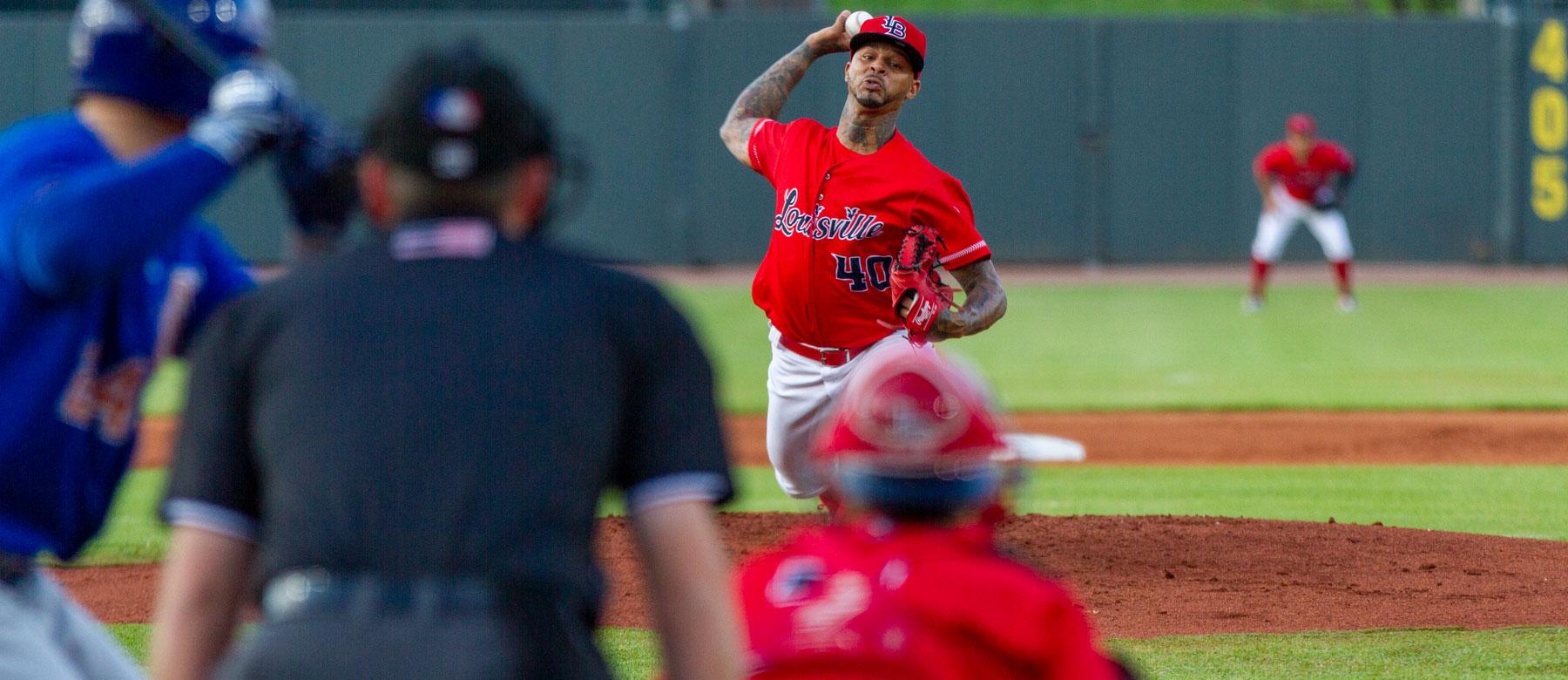 Reds Vladimir Gutierrez wins Pitcher of the Week in Louisville | redsminorleagues.com